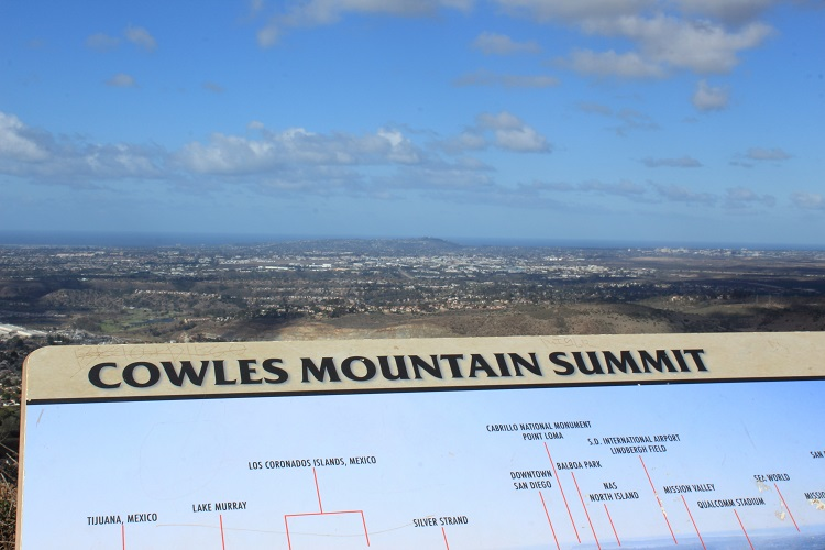 Cowles Mountain Hiking Trail Guide, Mission Trails Regional Park