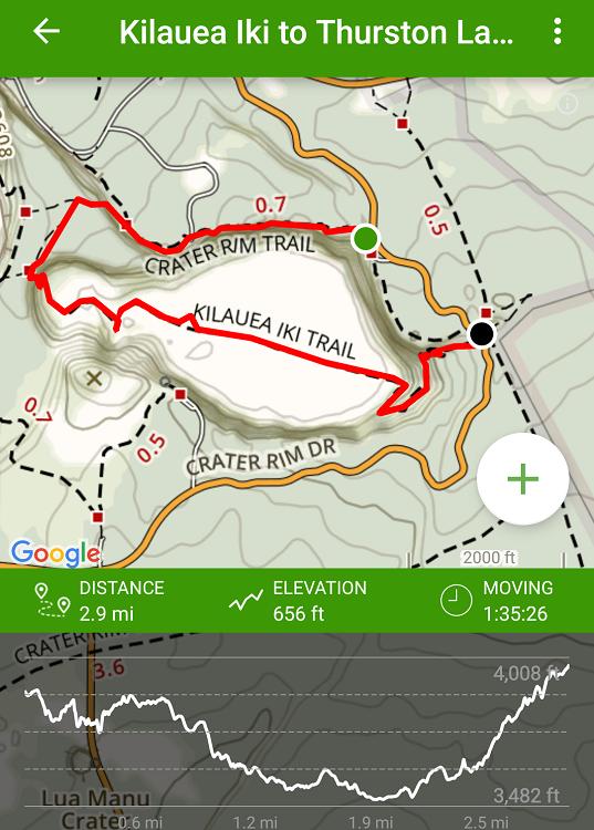 Kilauea Iki To Thurston Lava Tube Trail
