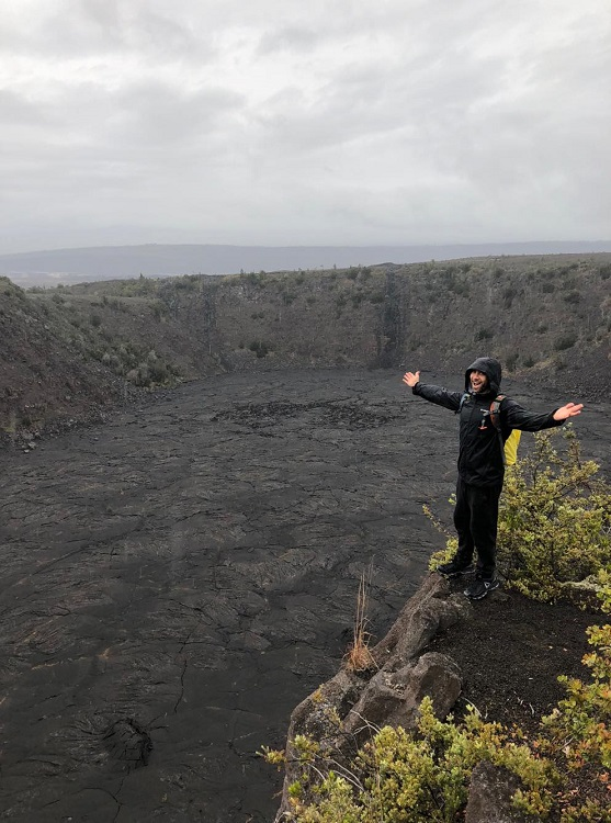 Keanakako'i Crater and The Lava Tree Hike