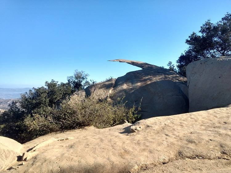Mount Woodson (Potato Chip Rock) via Lake Poway