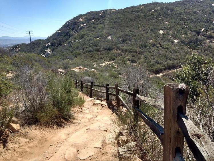 Olivenhain Dam via Way Up Trail