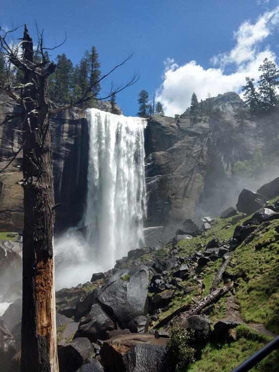 Vernal and Nevada Falls via The Mist Trail