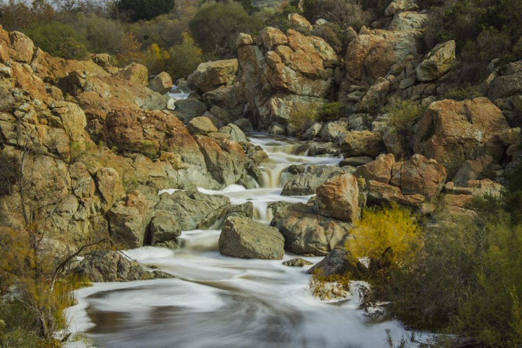 Los Penasquitos Canyon Preserve, Los Penasquitos Creek waterfall