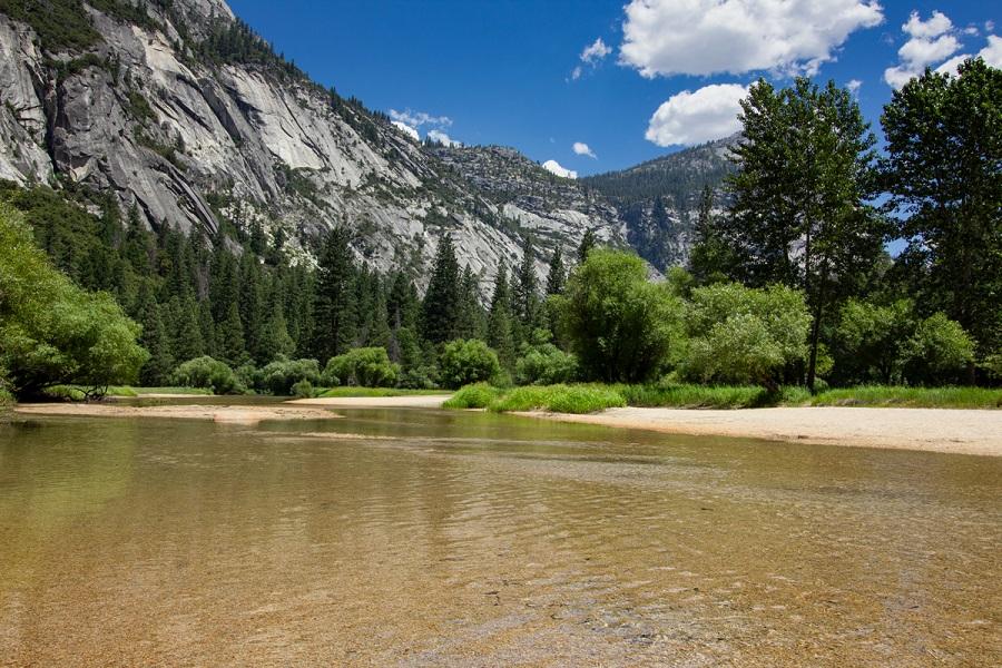 Hiking Mirror Lake Trail In Yosemite Valley