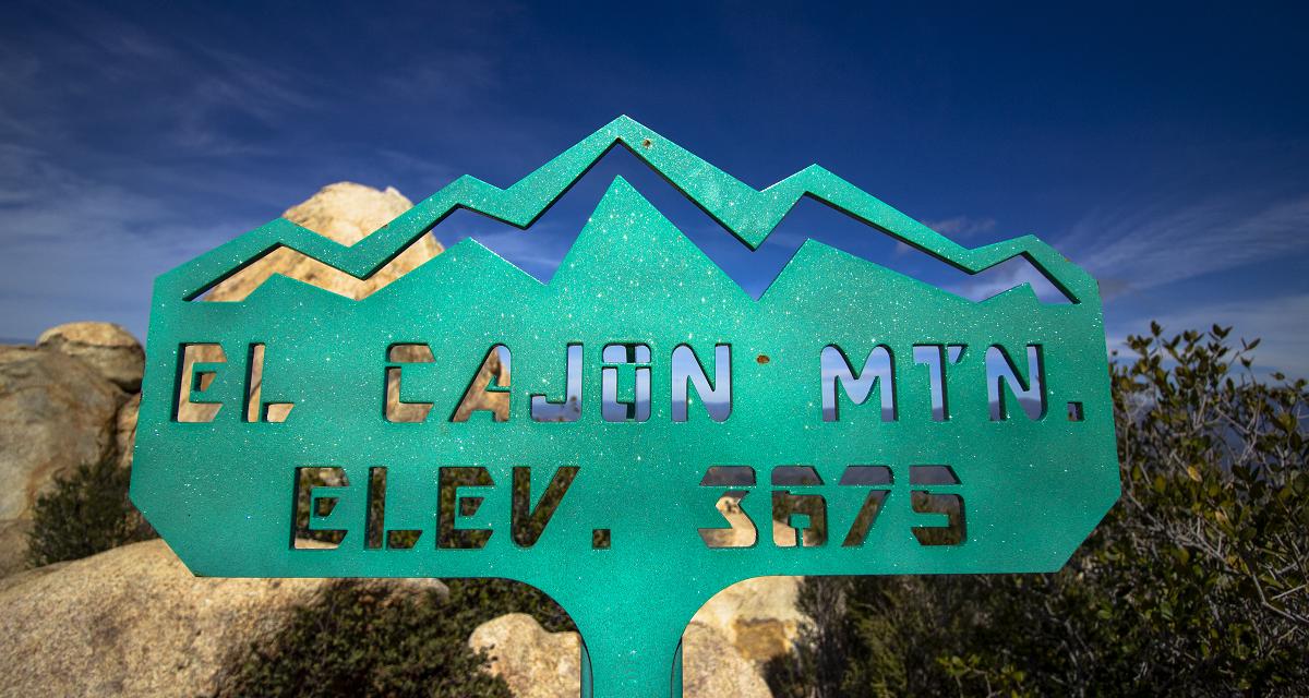El Cajon and El Capitan Mountain