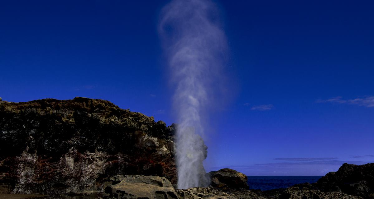 Nakalele Blowhole and Heart Rock